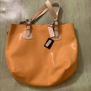New Pulicati leather shoulder bag